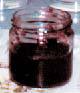 試作したシルク入りジャム(ブルーベリー味)。シルクが食感を高め、口当りが良い