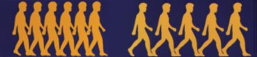 入れ歯で噛み合わせを修整すると、体のバランスが良くなり、歩幅は広く、スピードも速く、歩行がスムーズになる<資料提供:早川巌氏>