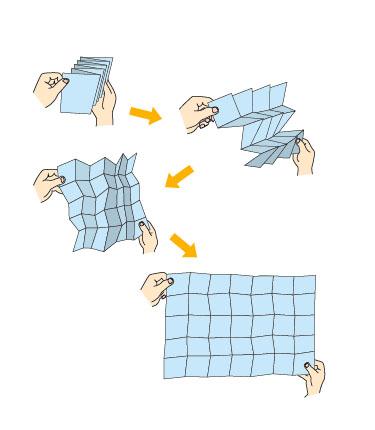 潰れて強度が増す「ミウラ折り ... : 図形の角度 : すべての講義