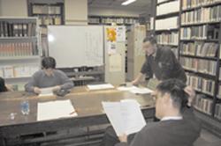 東京大学国語研究室で模擬授業を行なったときの様子