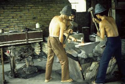アジア各地の鍛冶屋1 スマトラ島のメダン