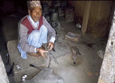 アジア各地の鍛冶屋(ネパール・パタン)