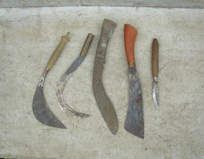 いろいろな刃物