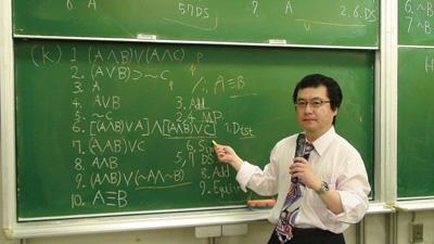 東京大学での「記号論理学」授業風景<写真提供:高橋昌一郎氏>