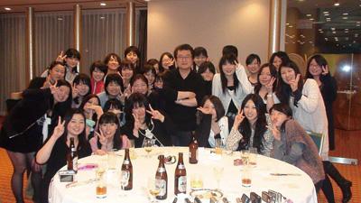國學院大學の高橋ゼミは、外国語文化学科のため女子学生が多い<写真提供:高橋昌一郎氏>