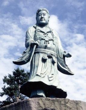 廣瀬氏がイグ・ノーベル賞を受賞した研究の対象となった、兼六園の日本武尊の銅像。現在は改修されている<写真提供:石川県>