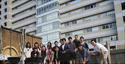 研究室のメンバー<写真提供:畠山昌則氏>